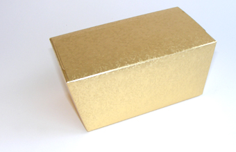 Gold 1000g sized Ballotin - Gift Carton Ideal for all occasions
