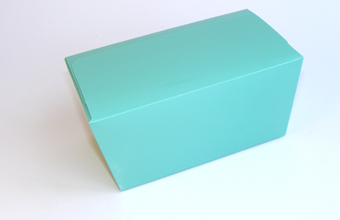 Aqua 1000g sized Ballotin - Gift Carton Ideal for Spring-Summer occasions