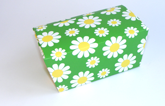 Daisy Floral 1000g sized Ballotin - Gift Carton Ideal for Spring-Summer occasions