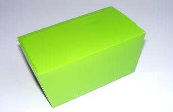 Green 1000g sized Ballotin - Gift Carton Ideal for Spring-Summer occasions