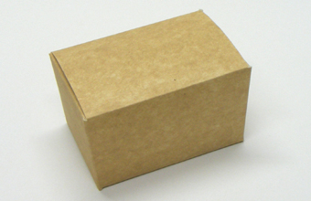 Brown (kraft) 125g sized Ballotin - Gift Carton Ideal for all occasions