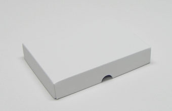 White 12 Choc sized Wibalin Lid - Fold-up Gift Box Lid Ideal for all occasions
