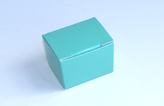 Aqua 1 Choc sized Ballotin - Gift Carton Ideal for Spring-Summer occasions or Weddings
