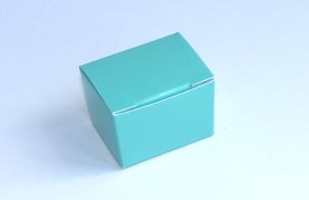 Aqua 1 Choc sized Ballotin - Gift Carton Ideal for Spring-Summer occasions or Weddings