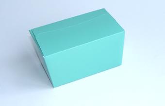 Aqua 250g sized Ballotin - Gift Carton Ideal for Spring-Summer occasions