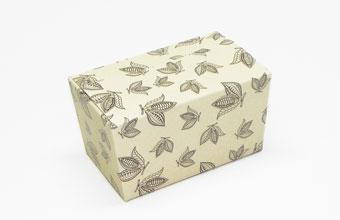 Cream Cocoa Pod 250g sized Ballotin - Gift Carton Ideal for all occasions