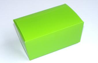 Green 375g sized Ballotin - Gift Carton Ideal for Spring-Summer occasions