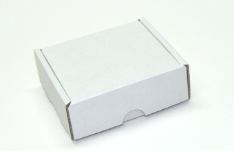 for 4 Choc Base and Lid Postal Outer - Corrugated Postal Gift Carton Ideal for all mailing occasions