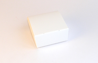 White 4 Choc sized Ballotin - Gift Carton Ideal for all occasions