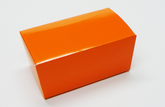 Orange 500g sized Ballotin - Gift Carton Ideal for all occasions