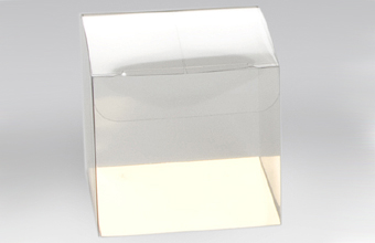 Clear 60mm sized Cube Carton - Cube Gift Carton Ideal for all occasions