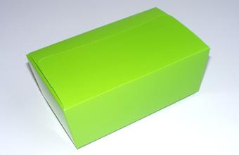 Green 750g sized Ballotin - Gift Carton Ideal for Spring-Summer occasions