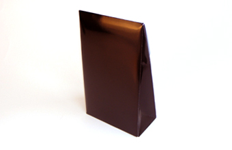 Black Large sized A-Frame Carton - Gift Carton Ideal for all occasions