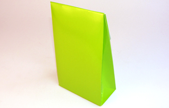 Green Large sized A-Frame Carton - Gift Carton Ideal for Easter occasions