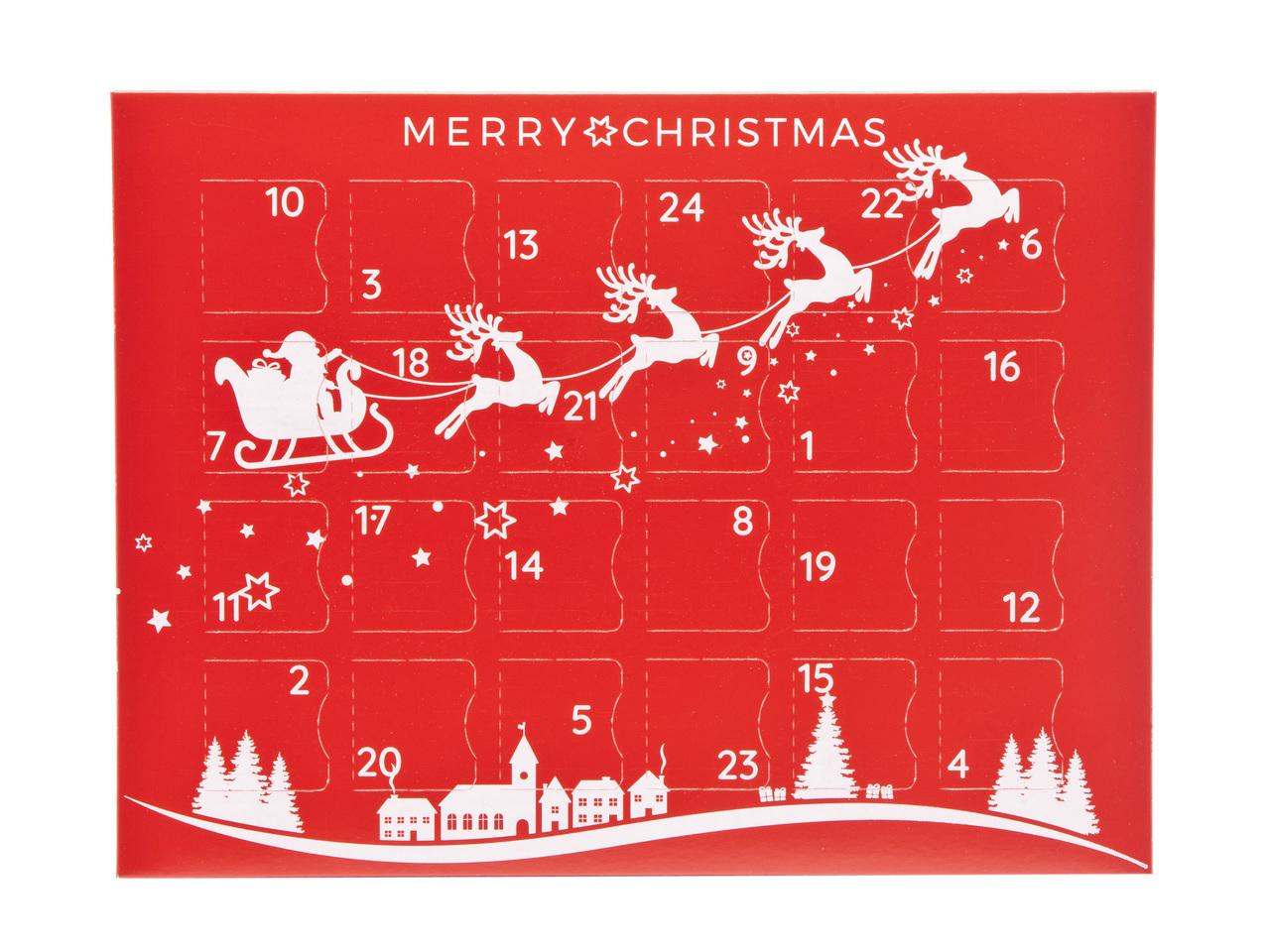 Sleigh Premium Light Advent Calendar sized  - Fill it Yourself Advent Calendar Box Ideal for the festive season
