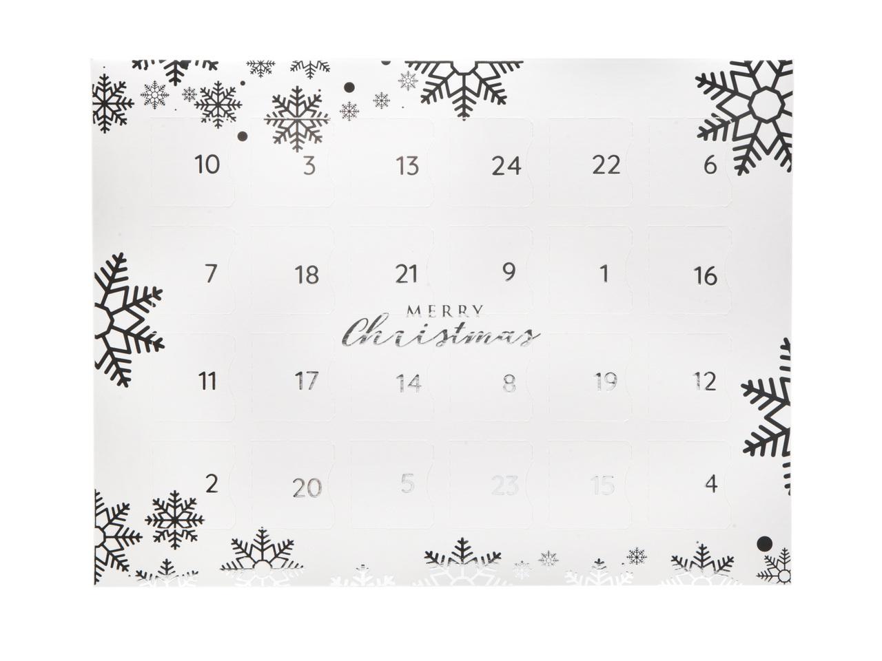 Snowflake Premium Light Advent Calendar sized  - Fill it Yourself Advent Calendar Box Ideal for the festive season