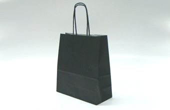 Black Small sized Paper Carrier Bag - Paper Carrier Bag Ideal for all occasions