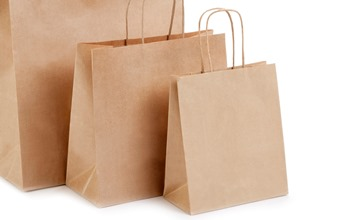 Brown (kraft) Small sized Paper Carrier Bag - Paper Carrier Bag Ideal for all occasions