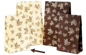 Cream Cocoa Pod Small sized A-Frame Carton - Gift Carton Ideal for all occasions
