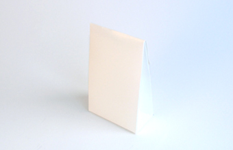 White Small sized A-Frame Carton - Gift Carton Ideal for all occasions