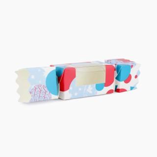 Spots and Baubles Medium sized Twist End Cracker - Twist-Lock Gift Packaging Cracker Carton Gift Carton Ideal for the festive season