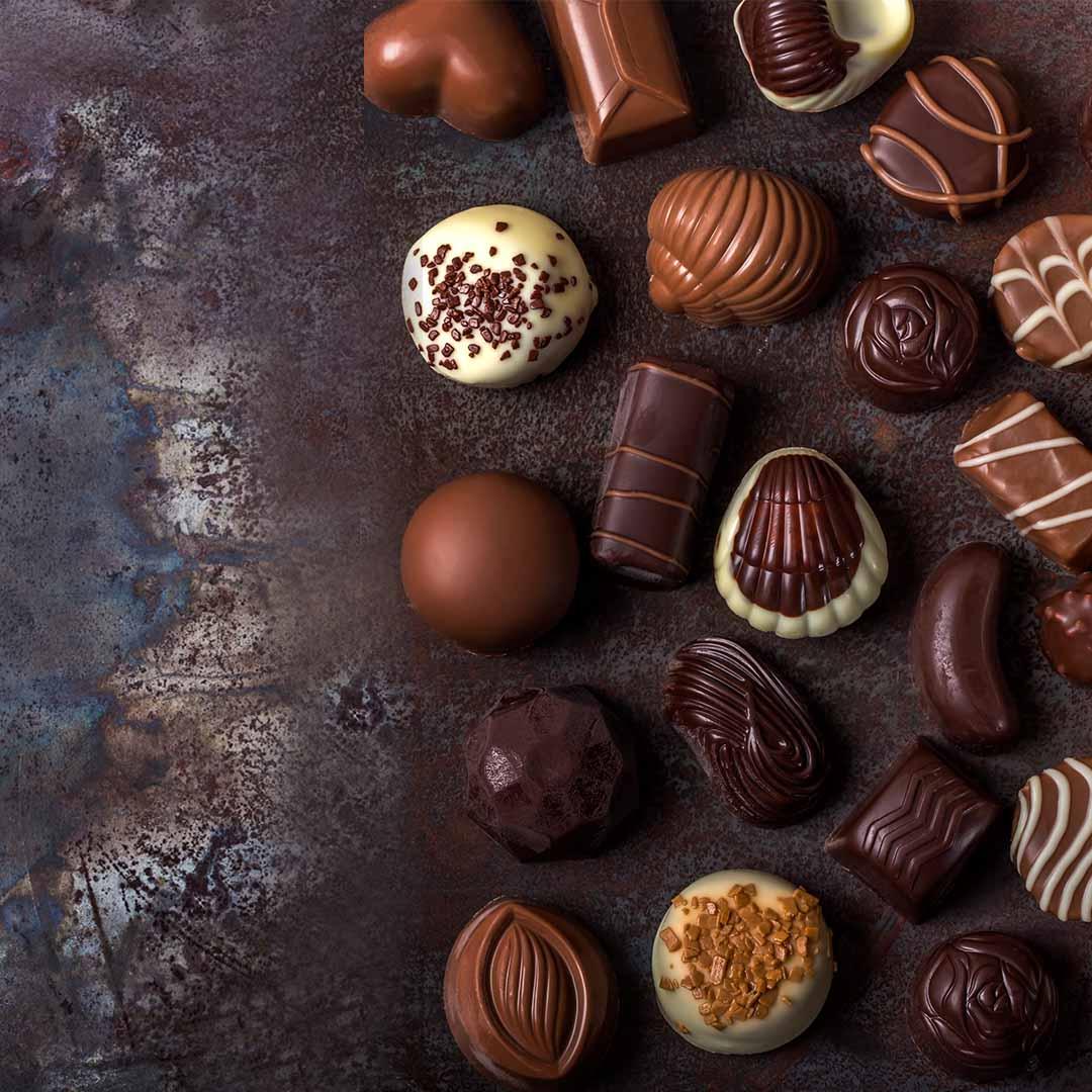 Chocolate truffle shells