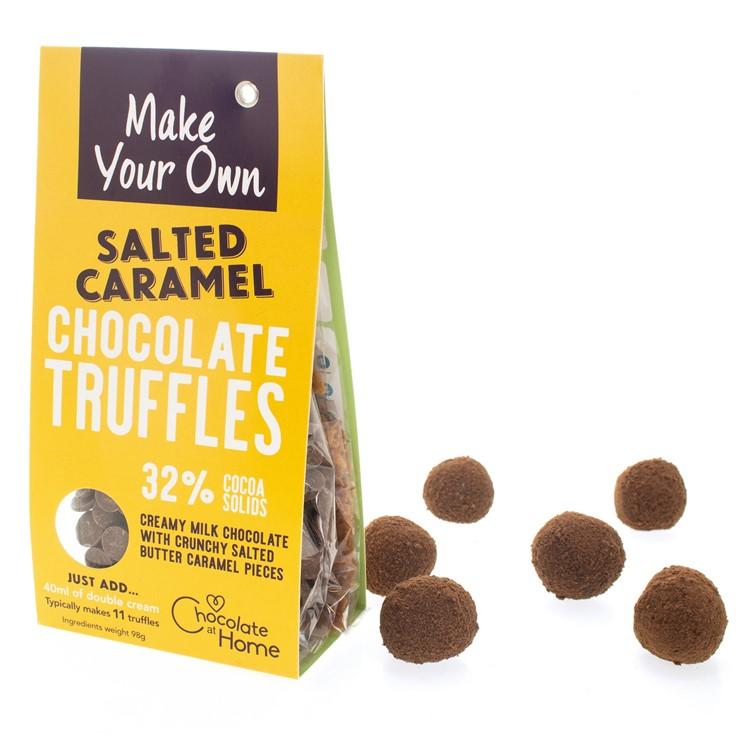 Chocolate Making Kits - Salted Caramel Truffles