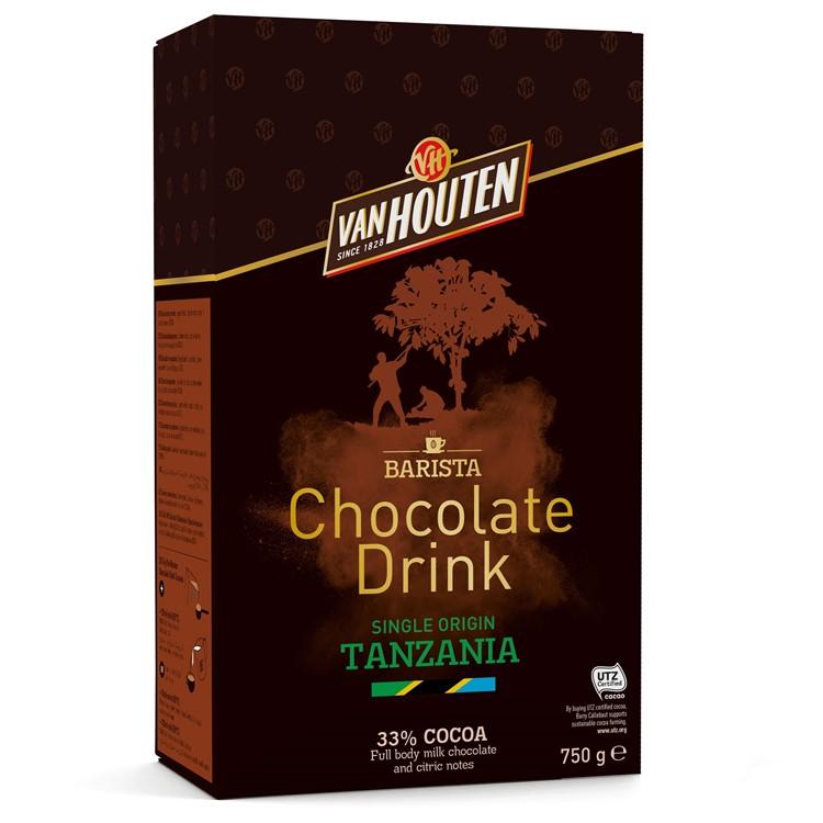 Van Houten Tanzania Hot Chocolate Powder - 750g