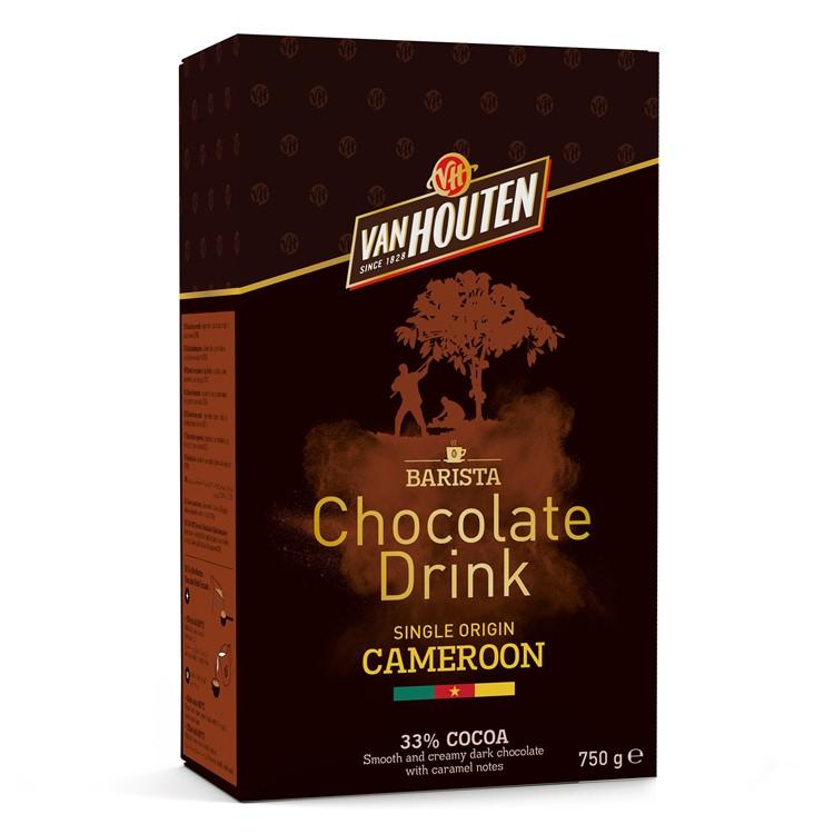 Van Houten Cameroon Hot Chocolate Powder - 750g