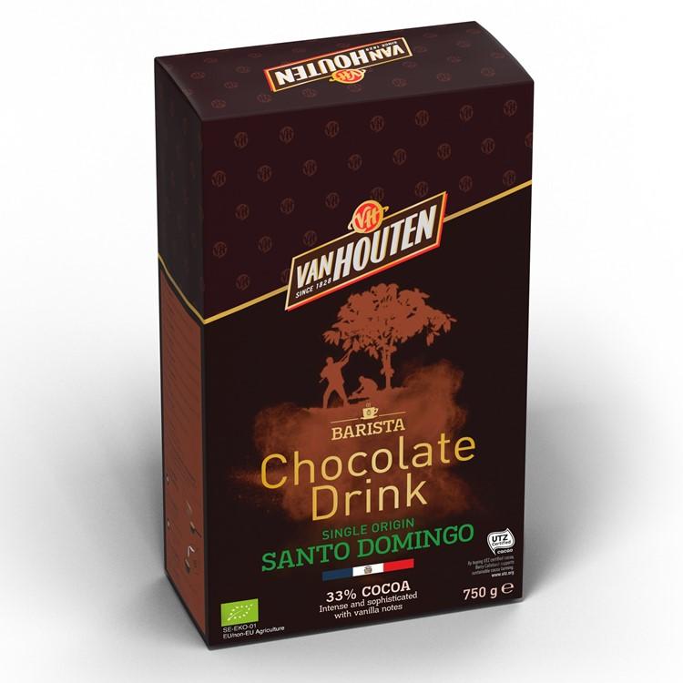 Van Houten Santo Domingo Hot Chocolate Powder - 750g
