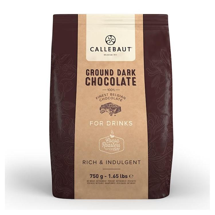 Callebaut Ground Dark Chocolate Powder - 750g