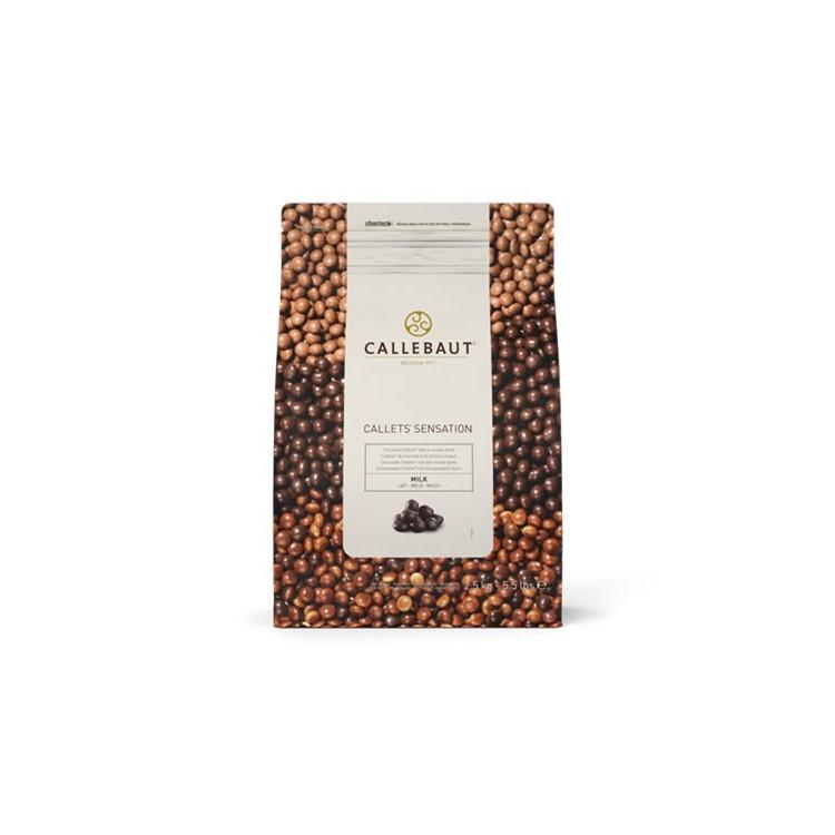 Callebaut Milk Chocolate Pearls 2.5kg