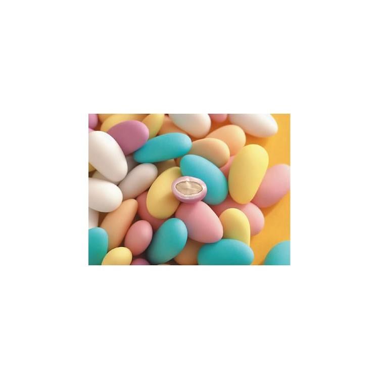Sugared almonds assorted superior - 5kg