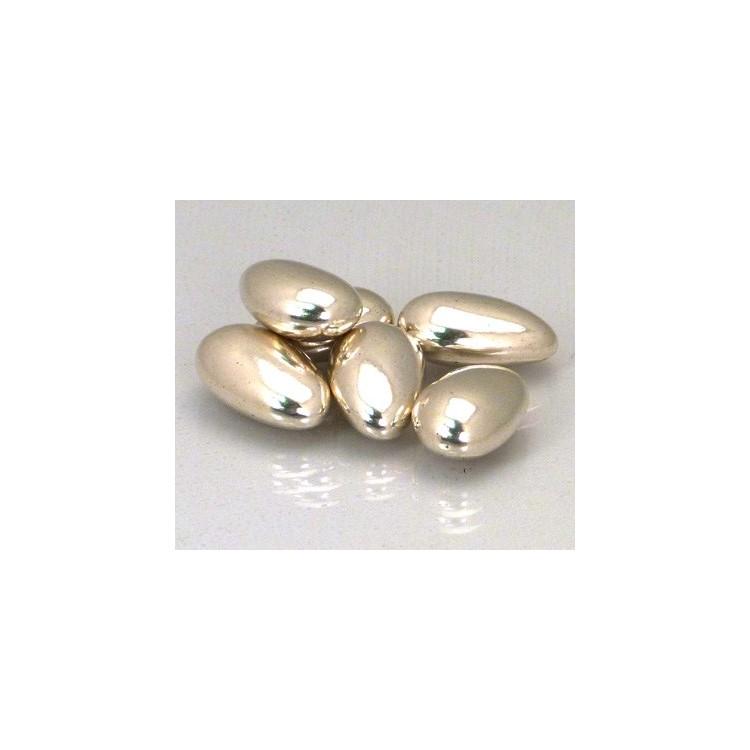 Sugared almonds Silver coloured 2.5kg
