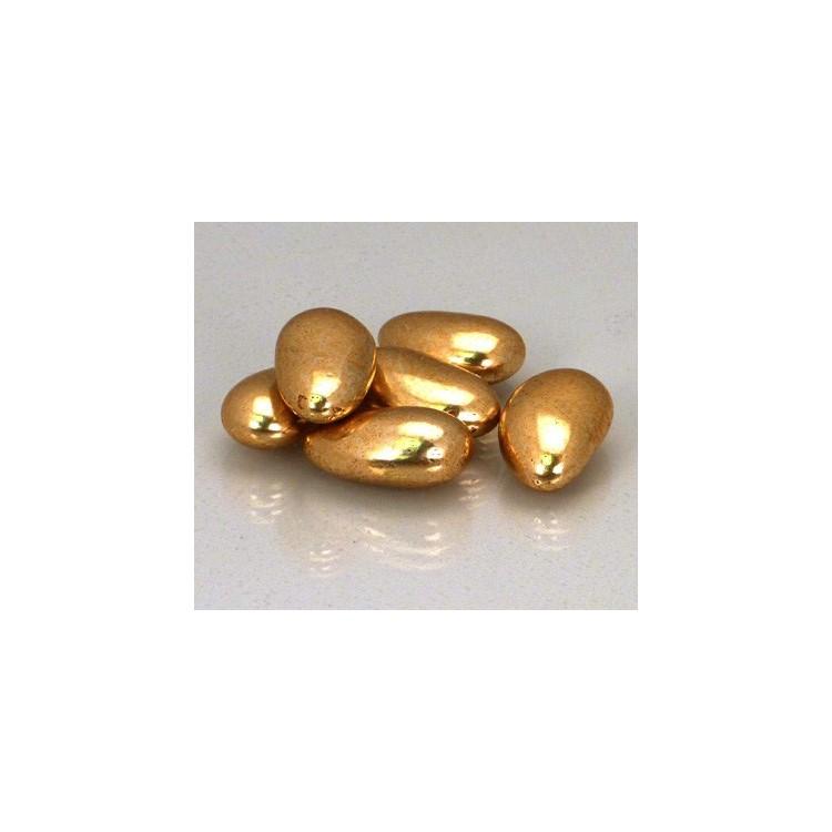 Sugared almonds Gold coloured 2.5kg