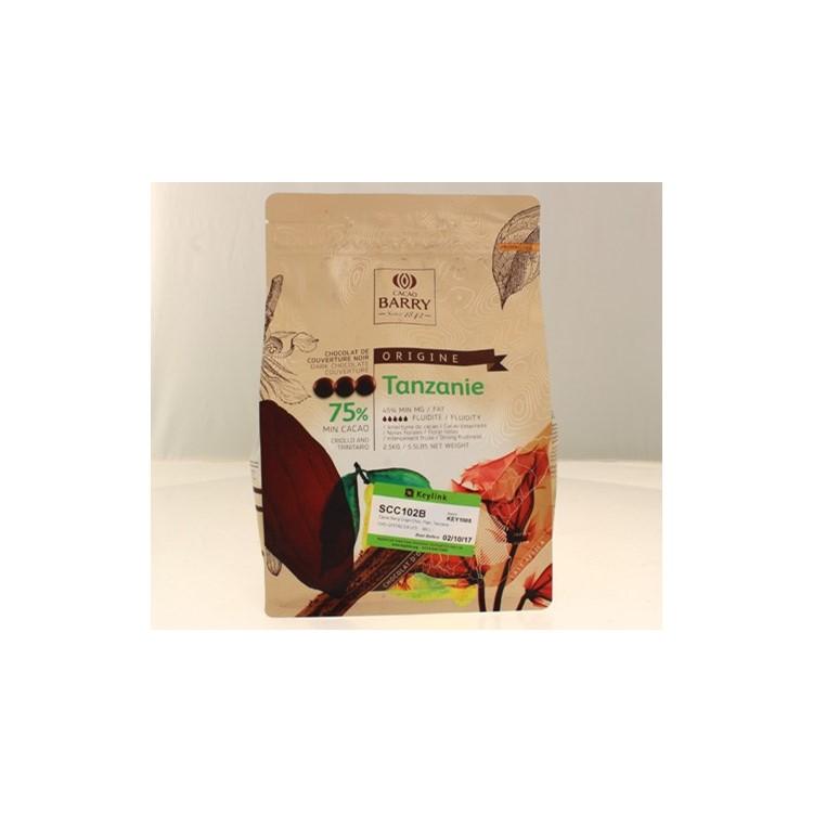 Cacao Barry Origin dark chocolate chips