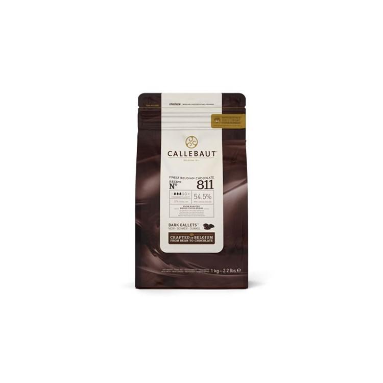 Callebaut Dark Chocolate Chips Couverture 811 - 1kg