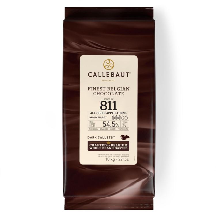 Callebaut Dark Chocolate Chips Couverture 811 - 10kg