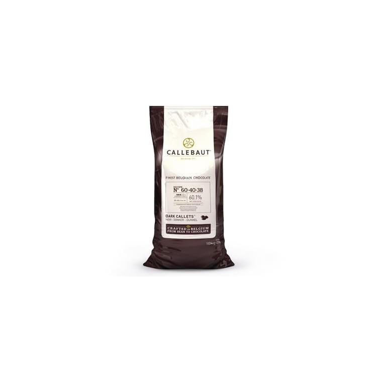 Callebaut Dark Chocolate Chips Dark and Bitter - 10kg