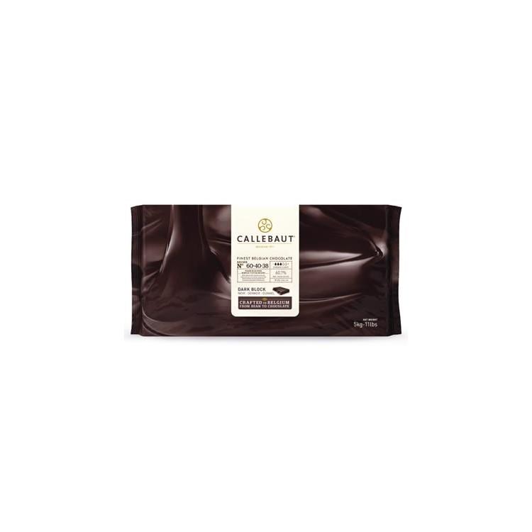Callebaut Dark Chocolate Chips Couverture Extra Bitter - 5kg bar
