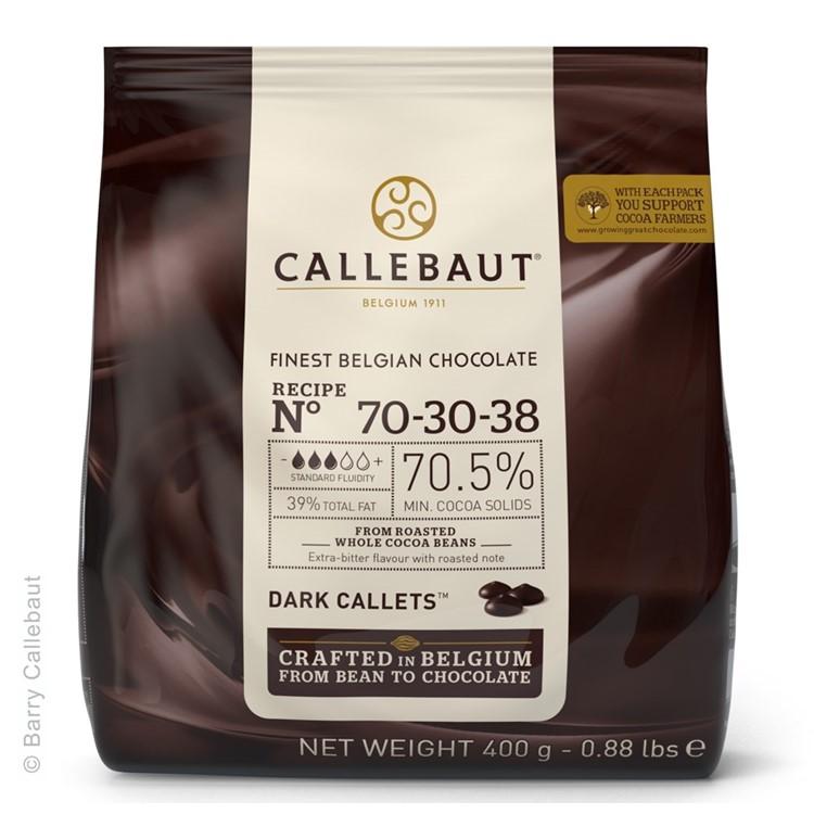 Callebaut Dark Chocolate Chips Couverture Very Bitter - 400g