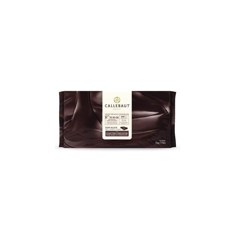 Callebaut Dark Chocolate Chips Couverture Very Bitter - 5kg bar