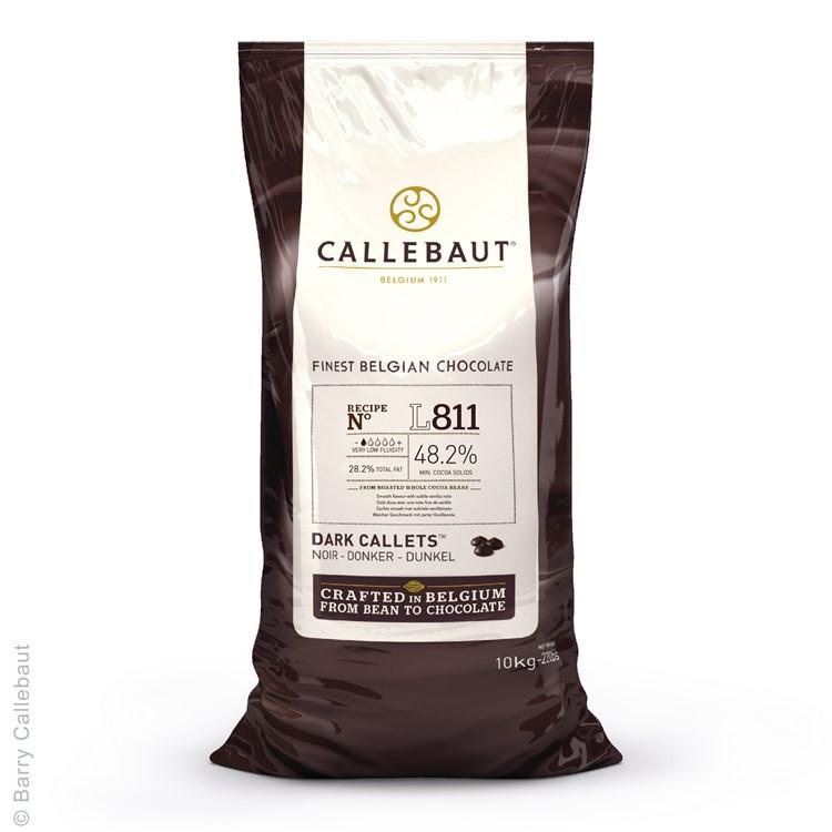 Callebaut Dark Chocolate Chips Couverture L811 - 10kg