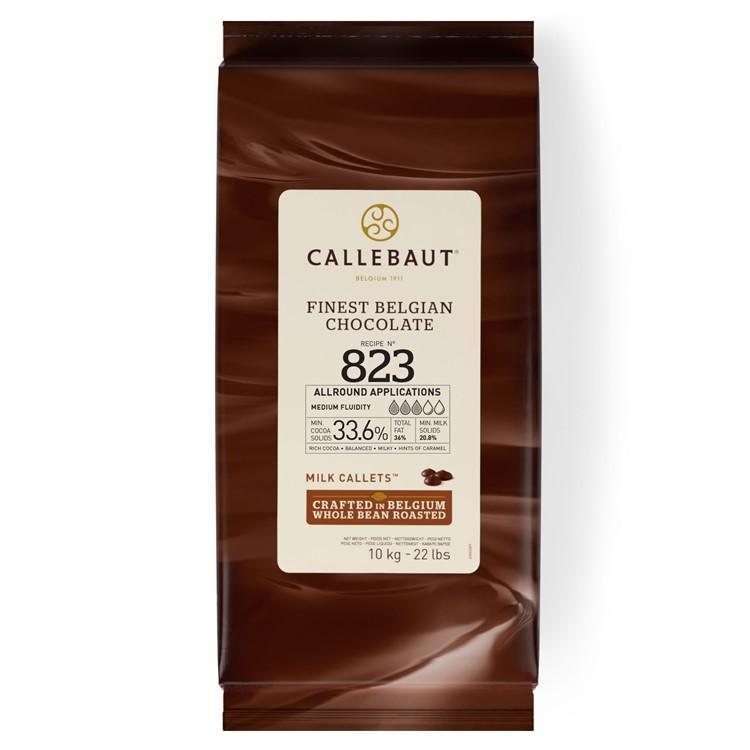 Callebaut Milk Chocolate Chips Couverture 823 - 10kg