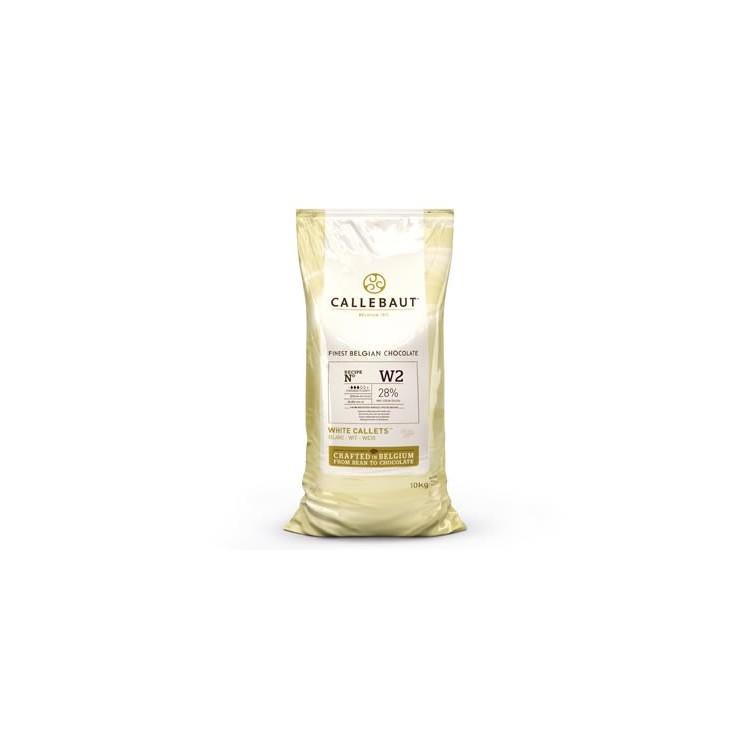 Callebaut White Chocolate Chips W2 - 10kg