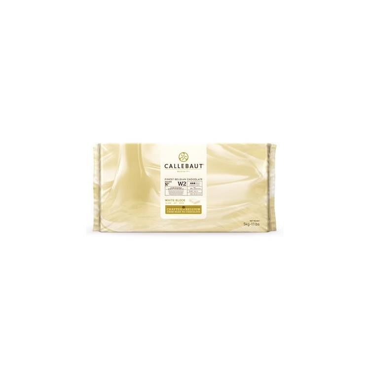 Callebaut White Chocolate Chips W2 - 5kg bar