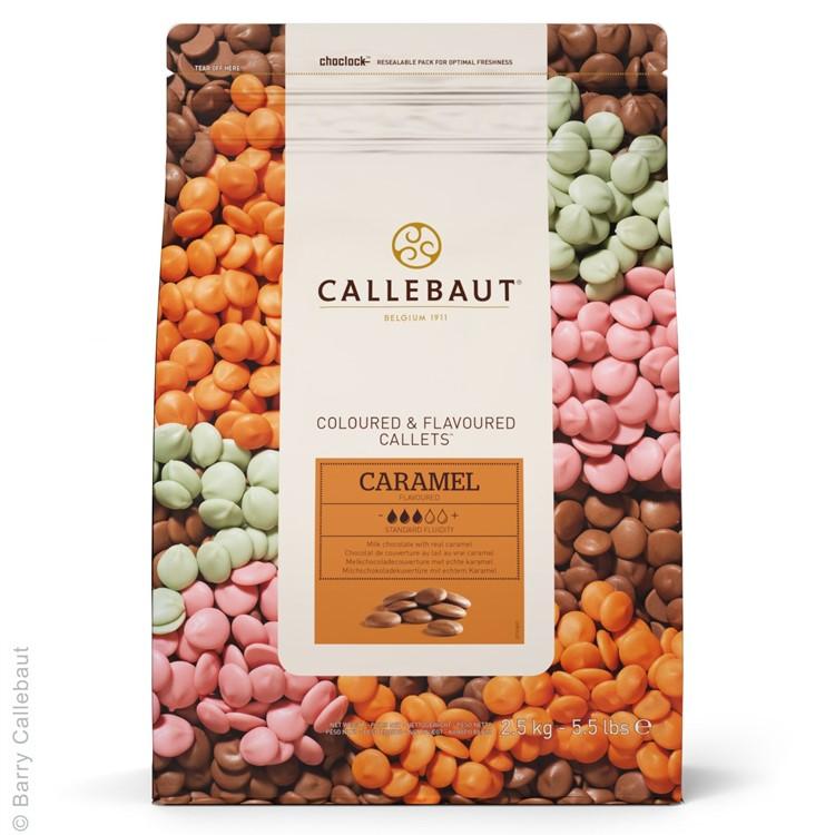 Callebaut Caramel Flavour Chocolate Chips - 2.5kg