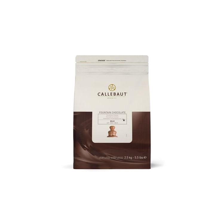 Callebaut Milk Chocolate Coating for fountains - 2.5kg