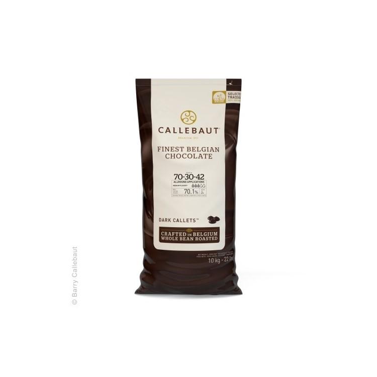 Callebaut Dark Chocolate Chips Couverture Extra Bitter - 10kg
