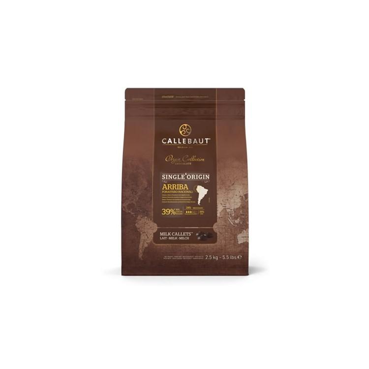 Callebaut Milk Chocolate Chips